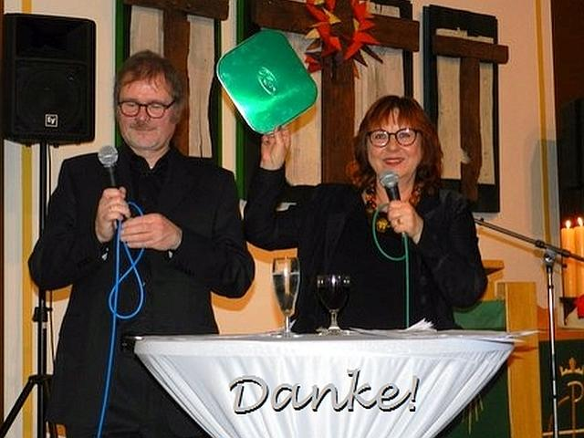 das Dortmunder Pfarrer-Ehepaar Thiel auf der Bühne
