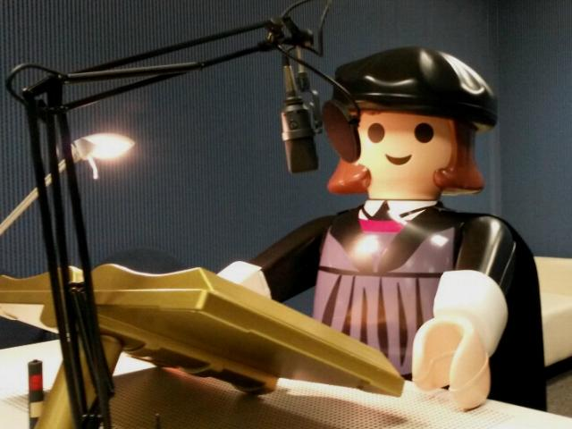 Martin Luther als große Playmobil-Figur