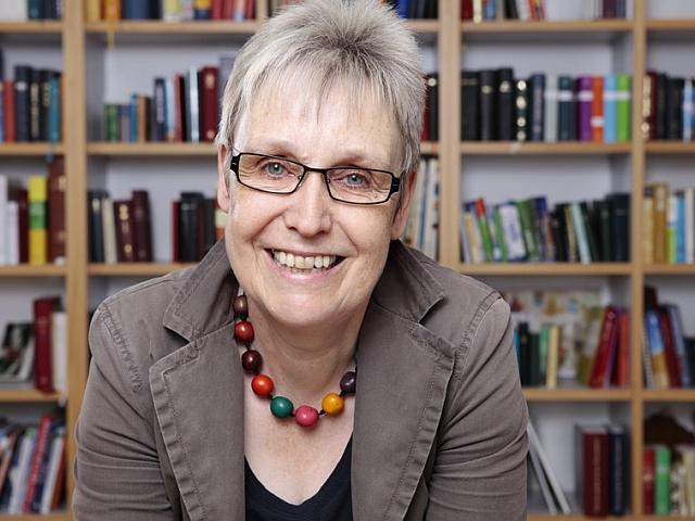 Foto von Birgit Winterhoff, Leiterin des Amtes für missionarische Dienste der Evangelischen Kirche von Westfalen