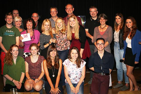 die Teilnehmenden von news4u No.8 zusammen mit ihren Referenten